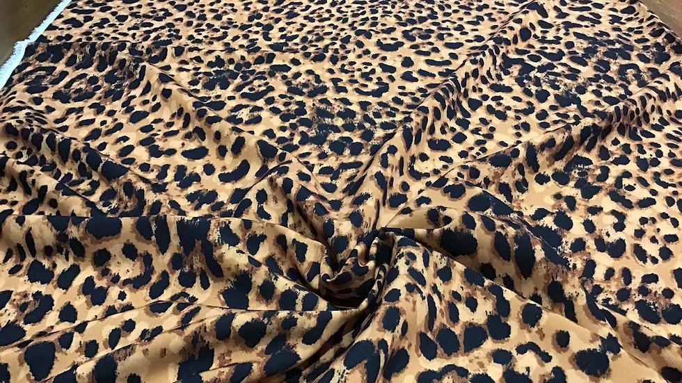 Betty- Leopard Print Crepe
