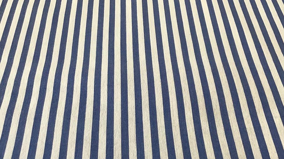 Blue & White Candy Stripe