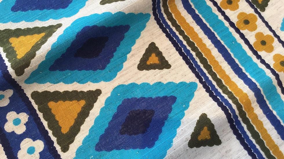 Vintage Folkwear Pattern Linen