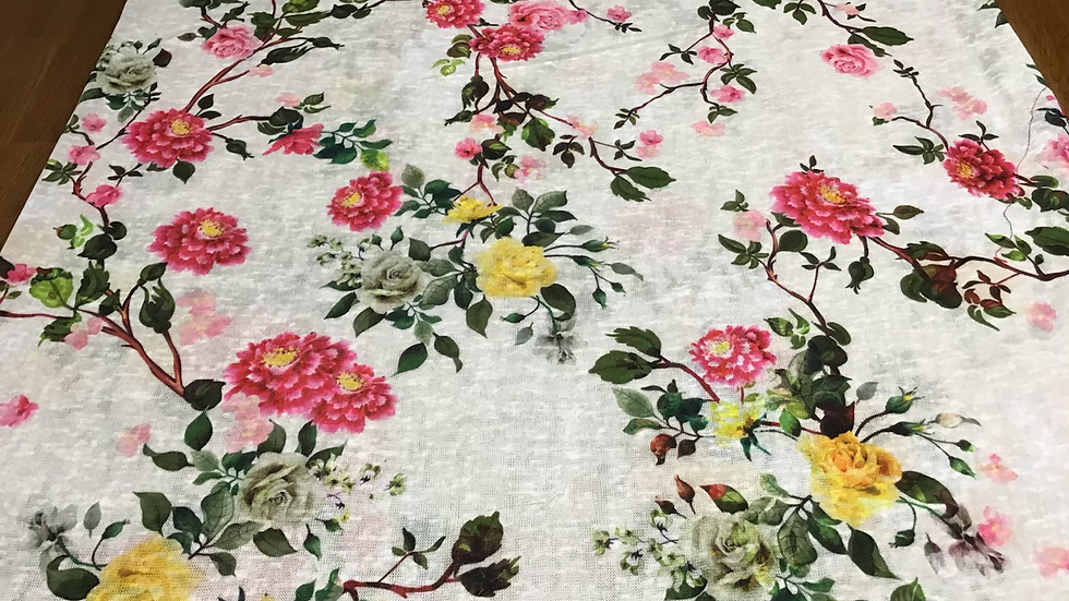 Chinoiserie Floral Knit