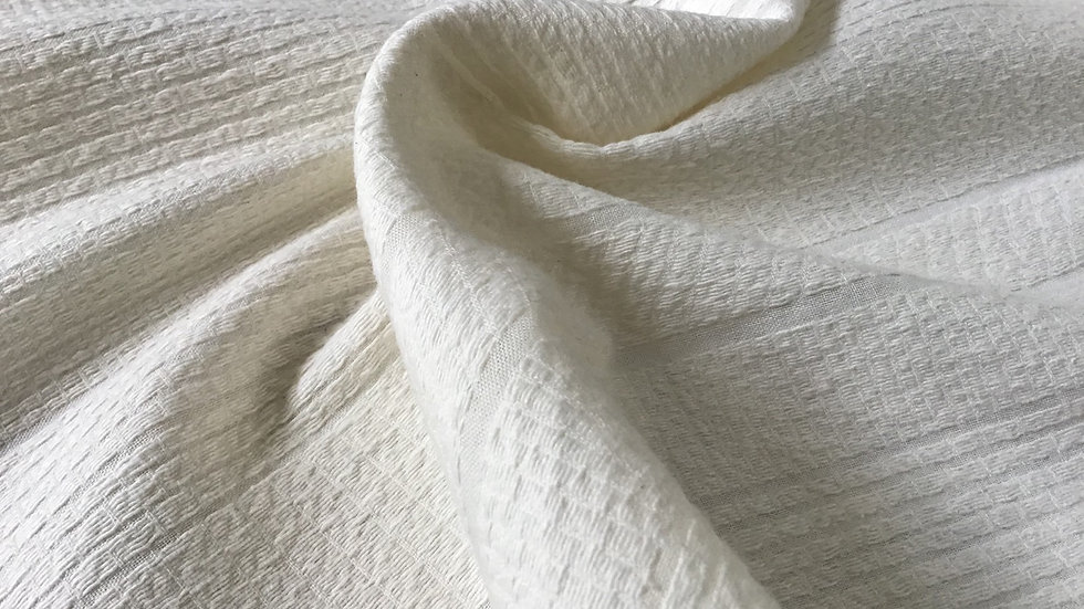 Cream Paysanne Cotton Weave
