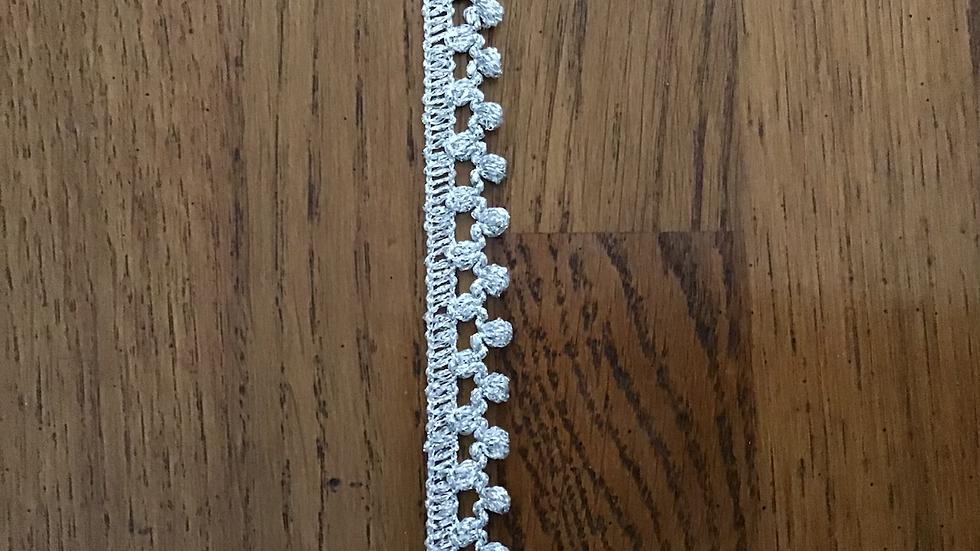 Silver Lurex Braid