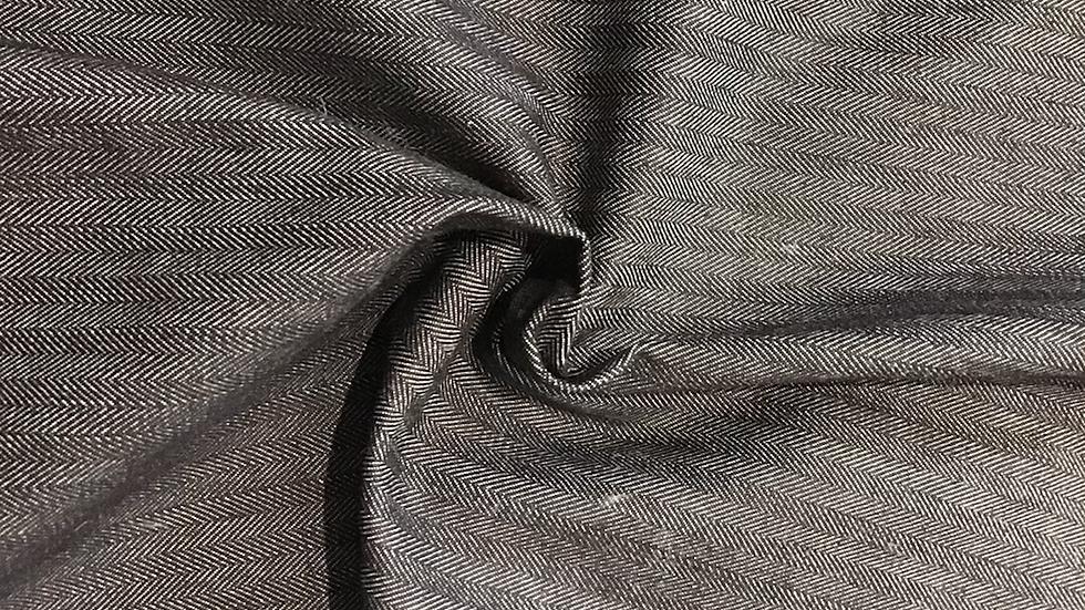 Denim - Herringbone Light Black