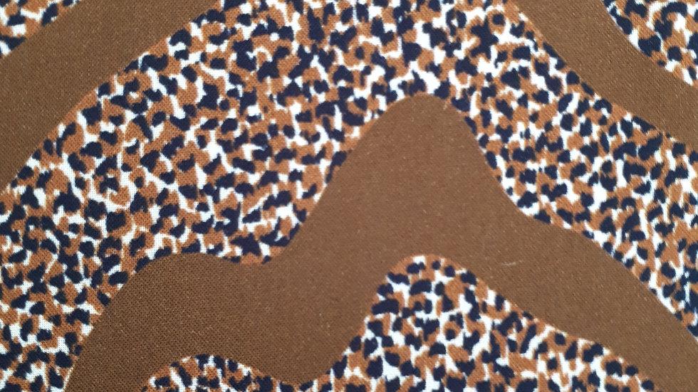 Brown 'Walkabout' Animal Print