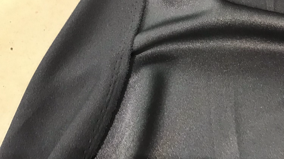 Black - Satin Backed Crepe