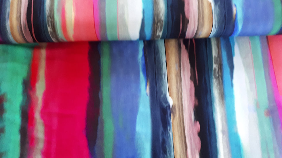 Multi Coloured Stripe Jersey