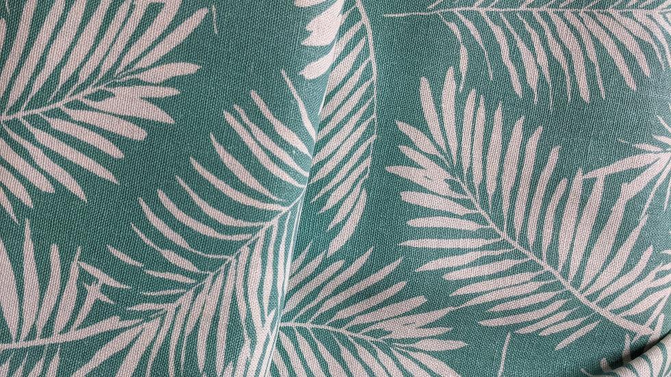 Palm Print Linen