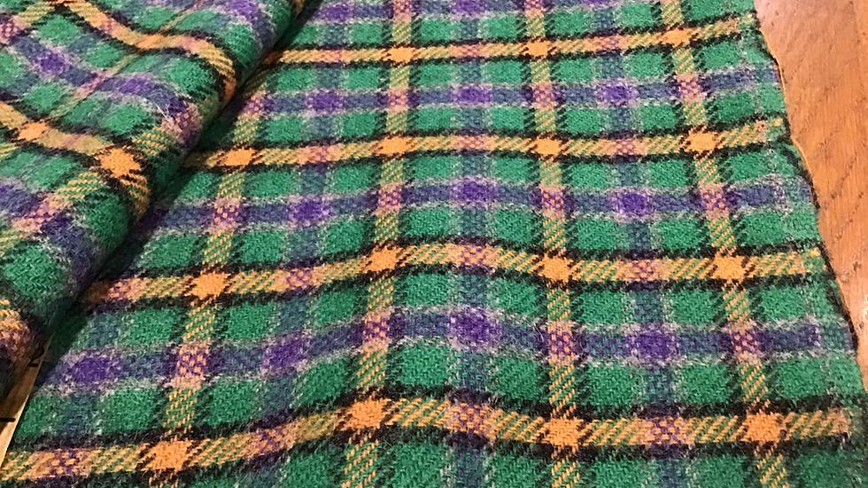 Penny Wool - Green, Purple, Yellow