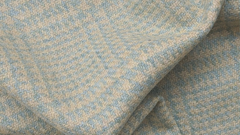 Saskia - Yellow & Mint Tweed Wool