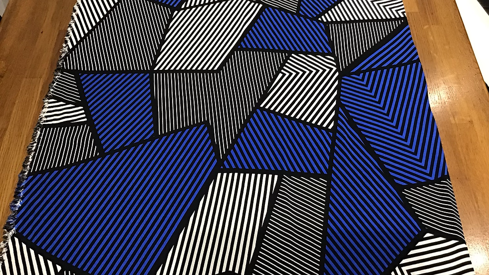 Deco Style Abstract Graphic Stripes