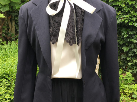How to make a Victoriana style lace collar by guest blogger Donna Gilbert @sewnotmature