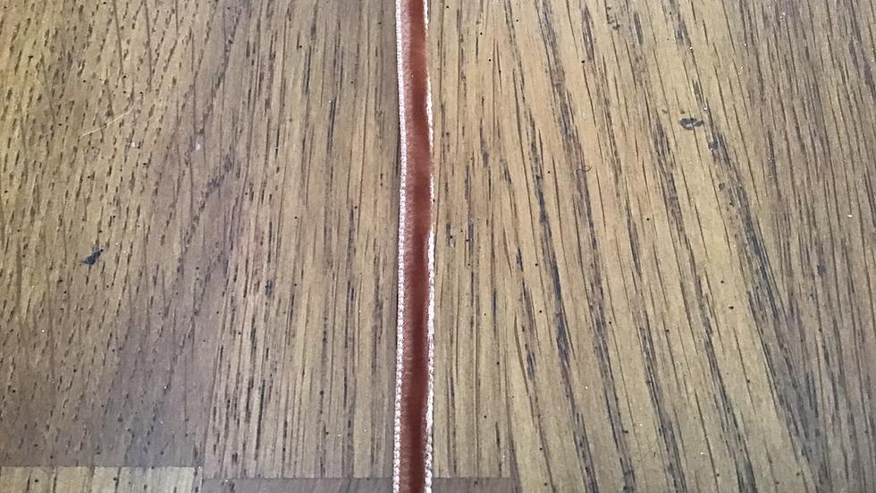 Dusky Pink Ribbon /0.5 wide