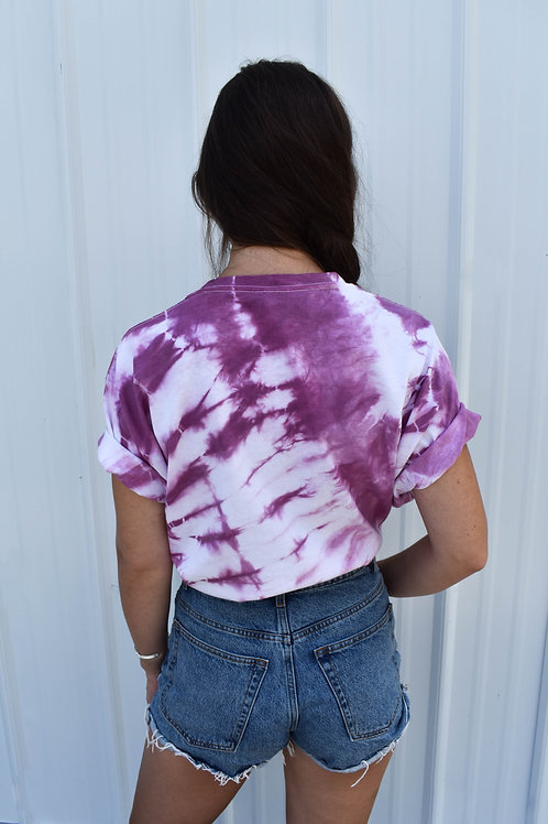 Short Sleeve Tee : Cochineal