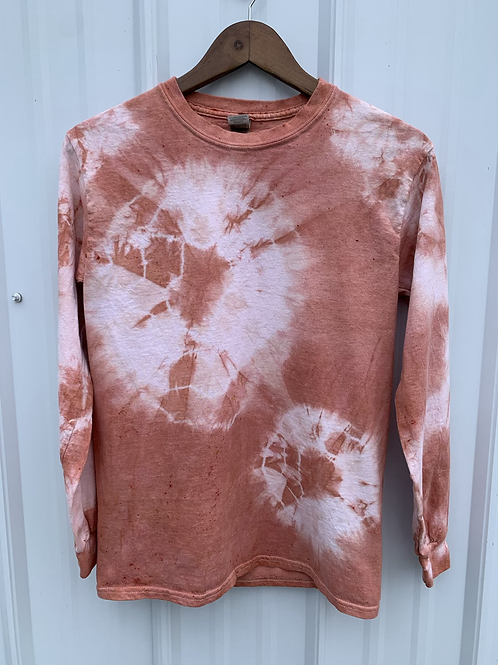 Cotton Long Sleeve : Madder Root (size small)