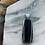 Thumbnail: Black Onyx Rounded Rectangular Statement Necklace