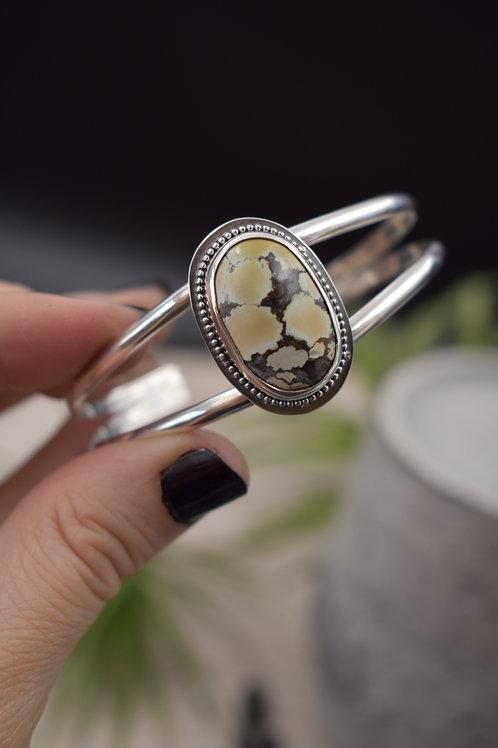 Oval Gobi Desert Cuff Bracelet