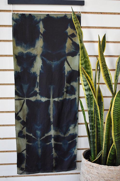 Shadow: Silk Long Scarf