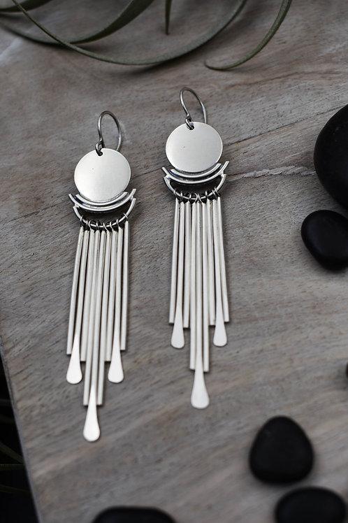 Orb Tassel Earrings