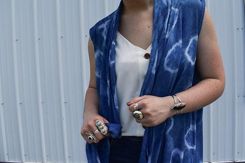 Lola : Indigo Waterfall Vest (medium)