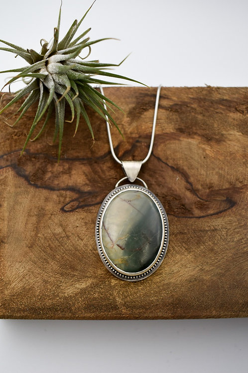 Oval Jasper Necklace