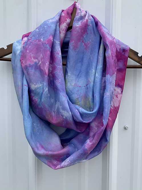 Blended Collection: Silk Infinity Scarf