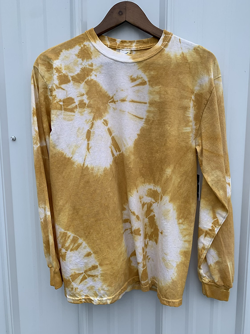Cotton Long Sleeve : Osage Orange ( size medium)