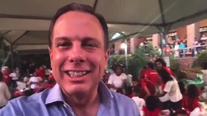 Prefeito João Doria no Natal das Creches Anglicanas 2017