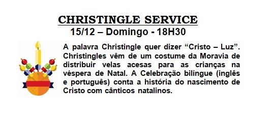 Christingle Service 15/12 - 18h30