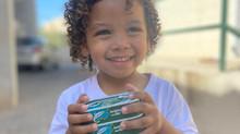 Entrega de Alimentos e Brinquedos em Paraisópolis