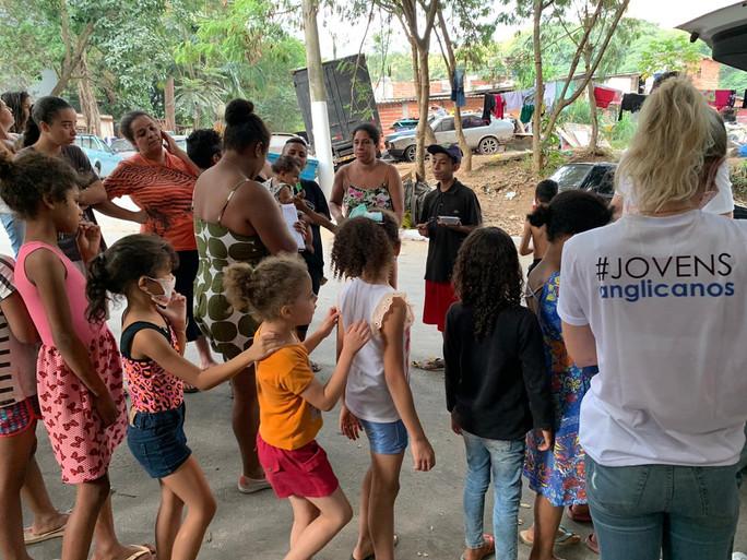 Fotos: Entregas das Marmitas em Paraisópolis