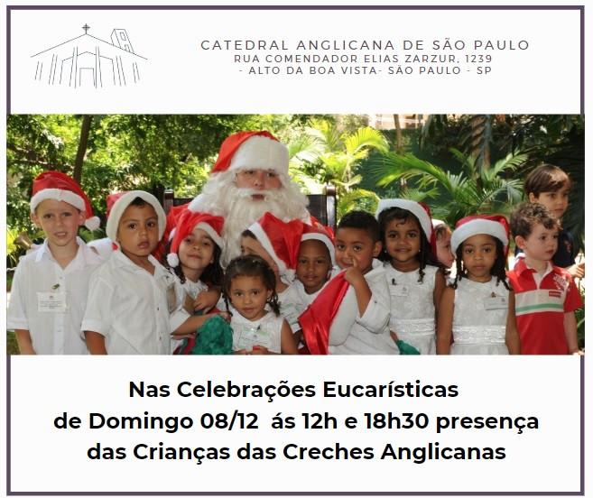 Natal das Creches Anglicanas 08/12