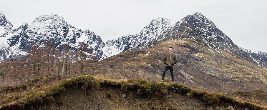 Ryan Cunningham in Skye