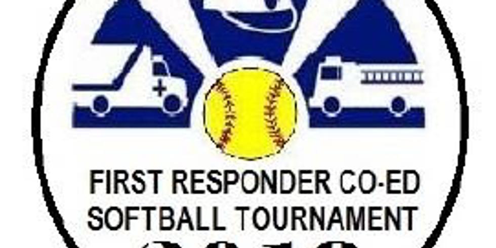 First Responder Co-ed Softball Tournament