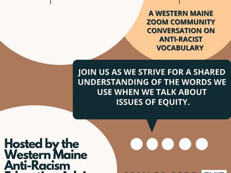 Let's Talk Vocab!: A Western Maine Community Zoom Conversation