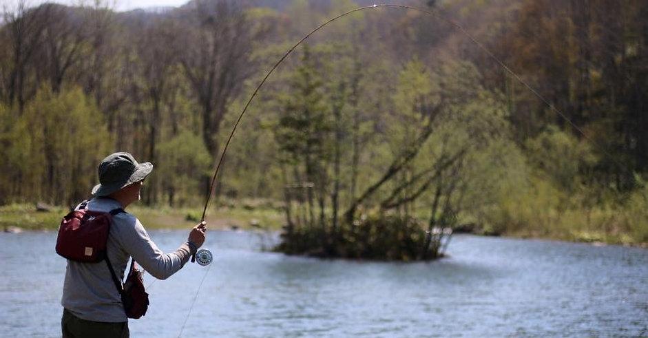 fly fishing in Hokkaido