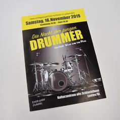 Plakat Schlagzeugschule Laufental