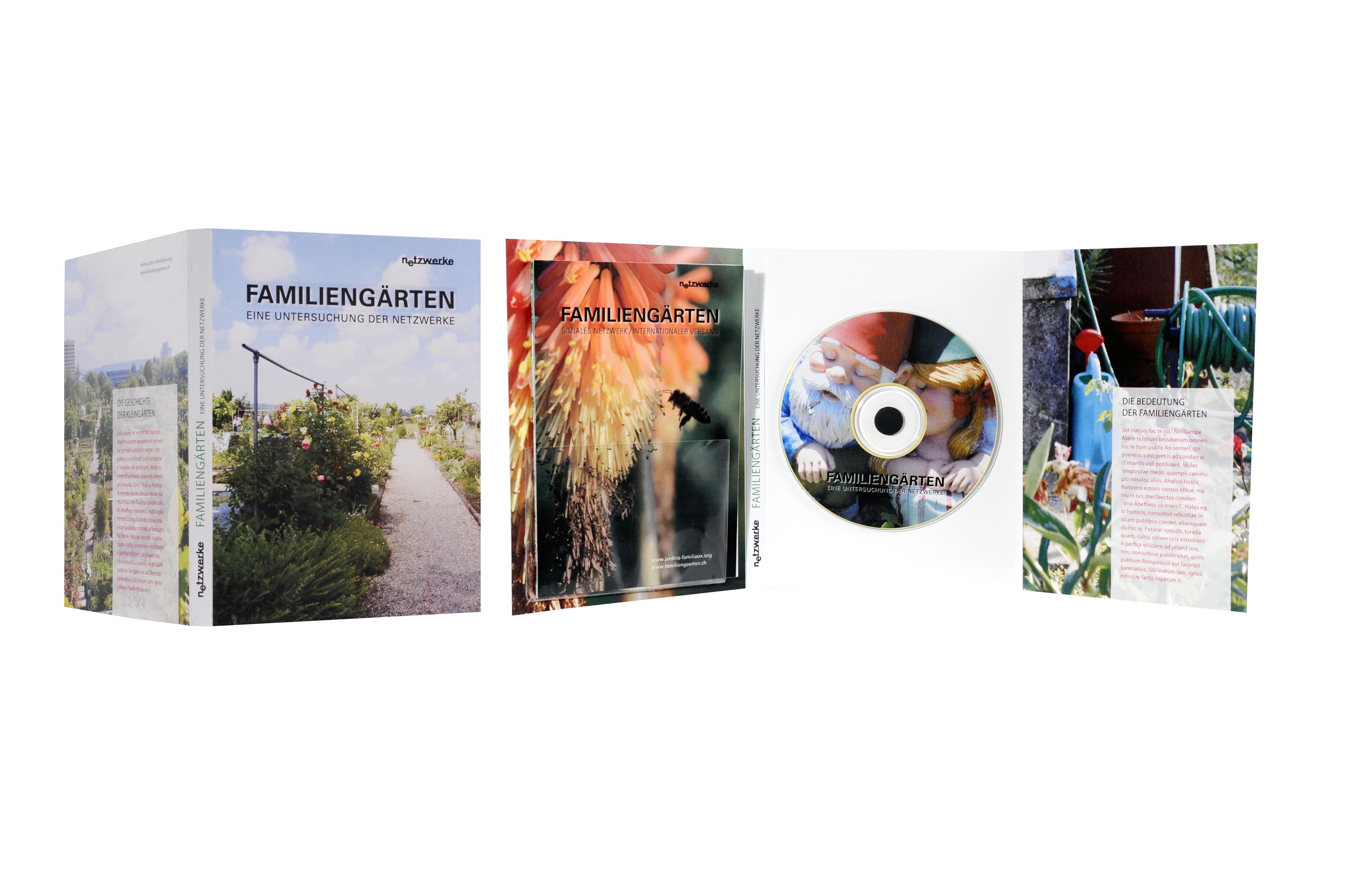 DVD Hülle Familiengärten Basel
