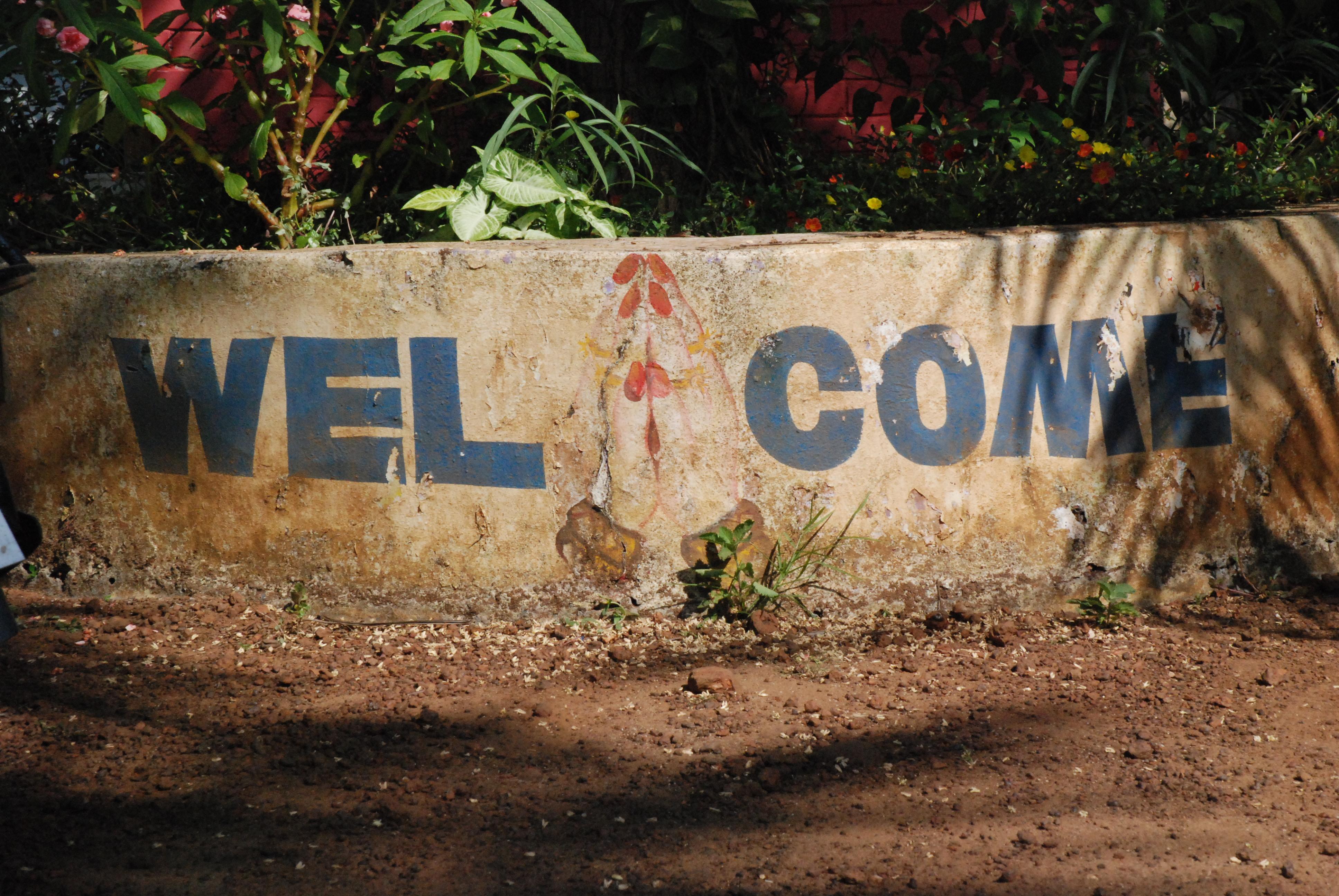 Willkommen - Namaste!