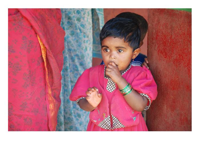 Besuch in einer indischen Schule in Karnataka
