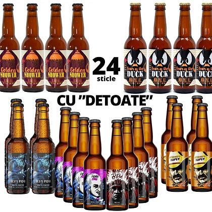 """Bax de 24 """"Cu detoate"""""""