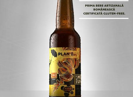 MaltMeUP! - Prima bere artizanală românească GlutenFree, made by Plan Beer