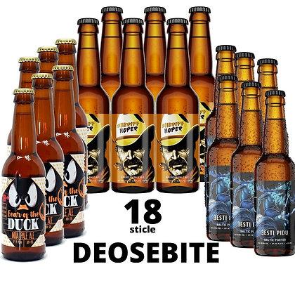 """Bax de 18 sticle """"Deosebite"""""""