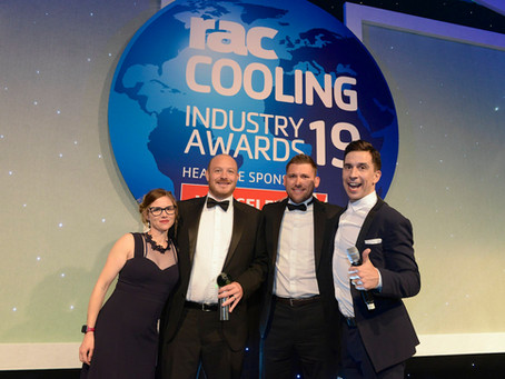 Cold Control bring home RAC Contractor of the Year award