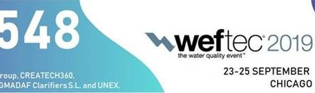 See us at WEFTEC 2019 - Chicago