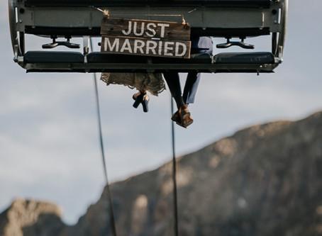 Wedding at 11,000 feet
