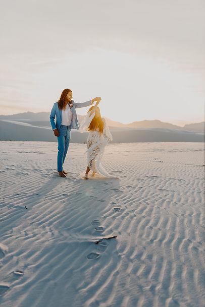 Sand Dunes Elopement - MeredithAustinPhotography
