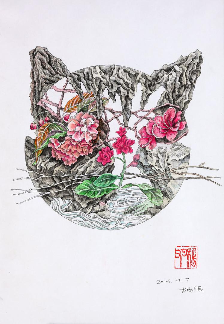 paysage cat