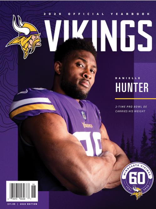 2020 Minnesota Vikings Yearbook