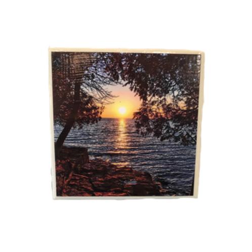 Door County Sunrise Coaster