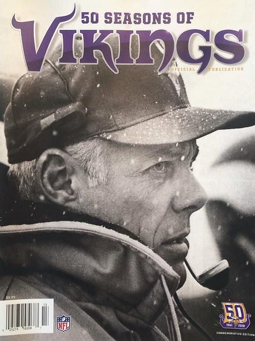 50 Seasons of Vikings Yearbook